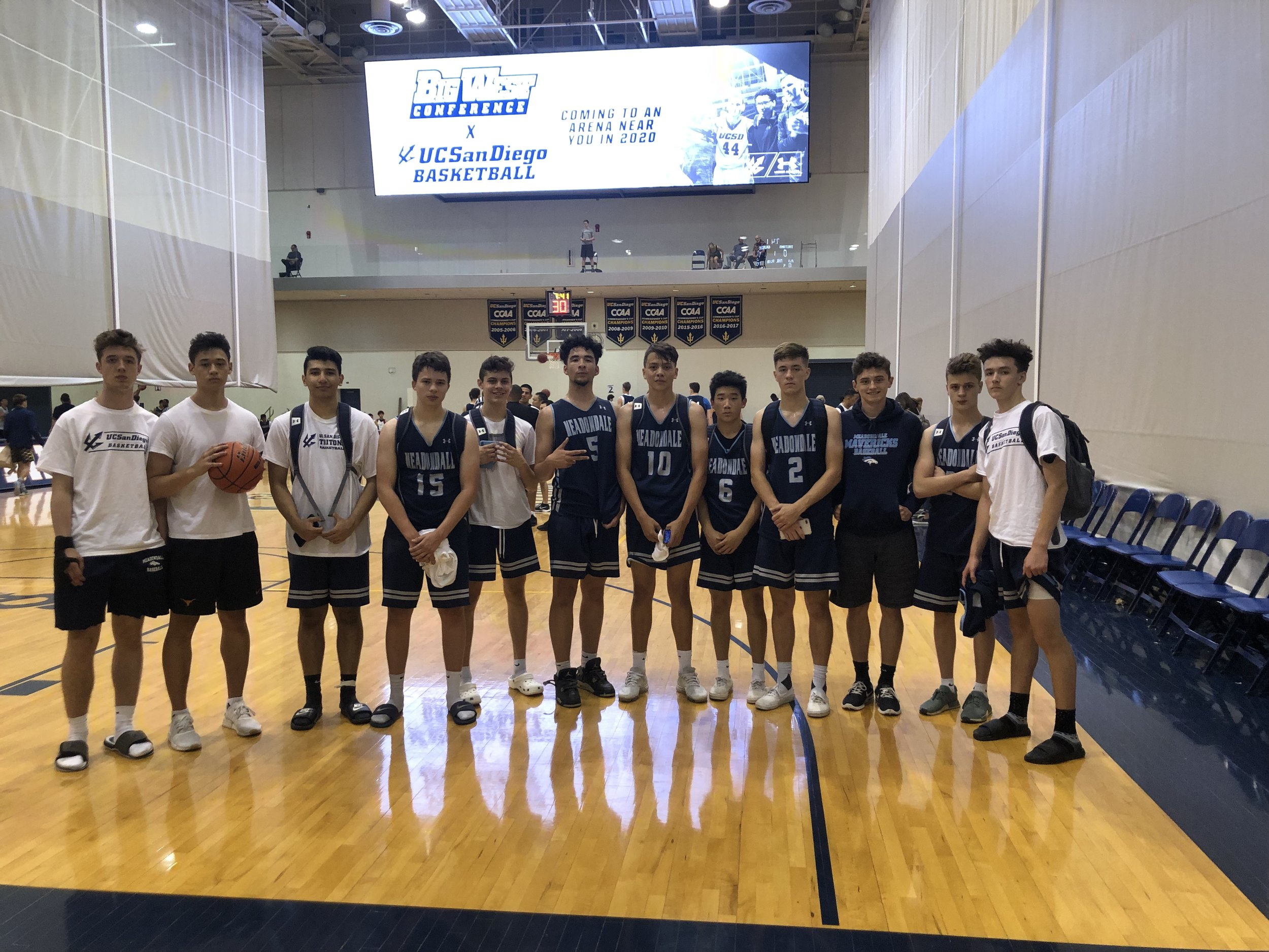 SUN: Successful team camp at UCSD.