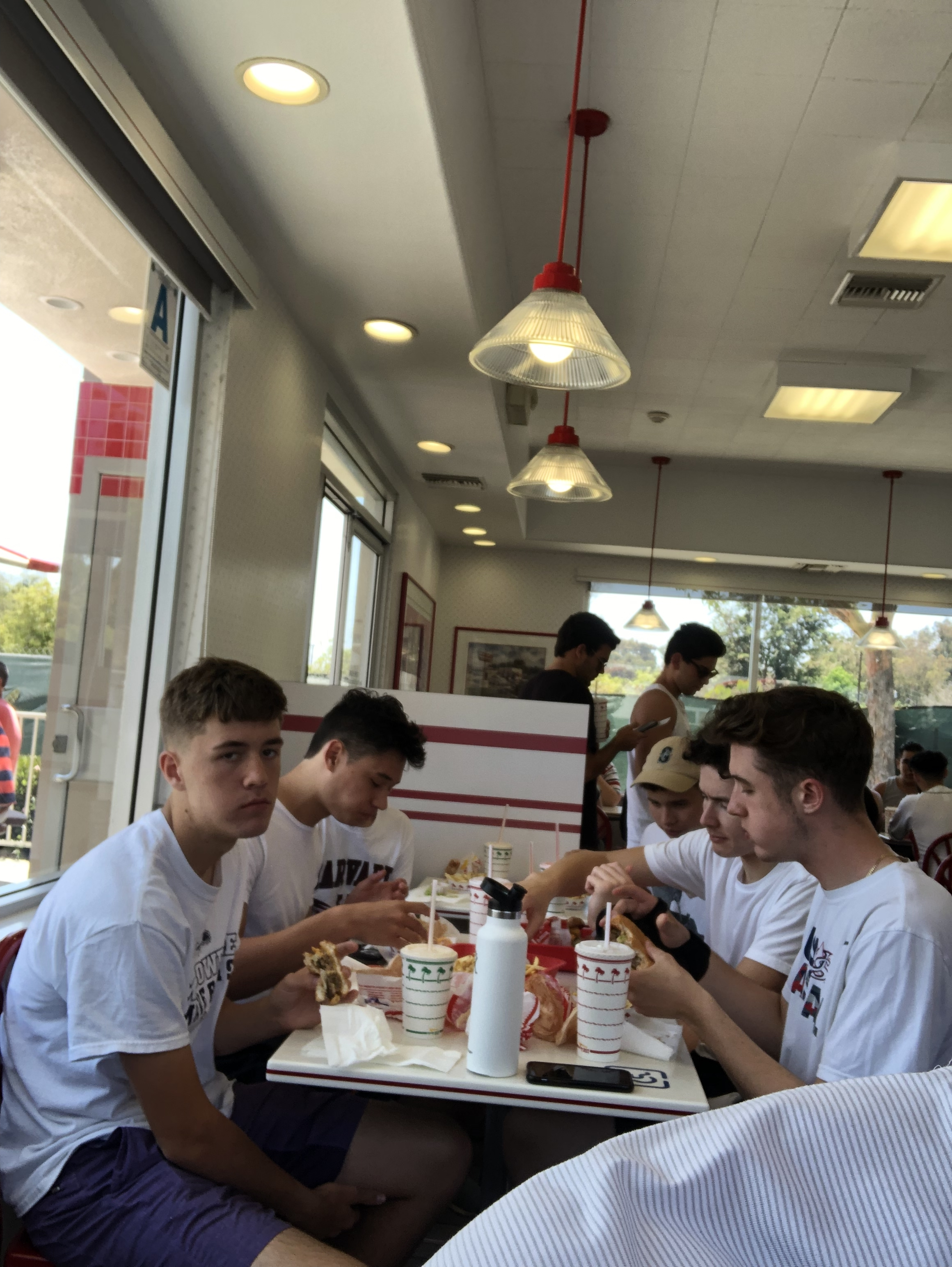 FRI: First meal of the trip @ In-N-Out