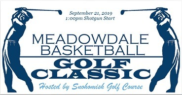 The 2019 Meadowdale Basketball Golf Classic is September 21st at 1pm at @snohomishgolfcourse. Register as a golfer or sponsor today! (Link in bio)