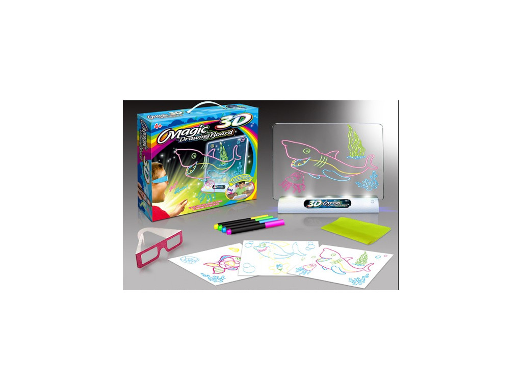 3D Magic Drawing Board