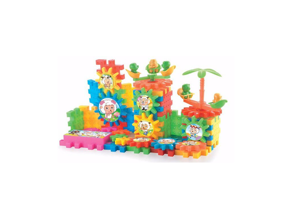 Gear Up For Fun 162pcs