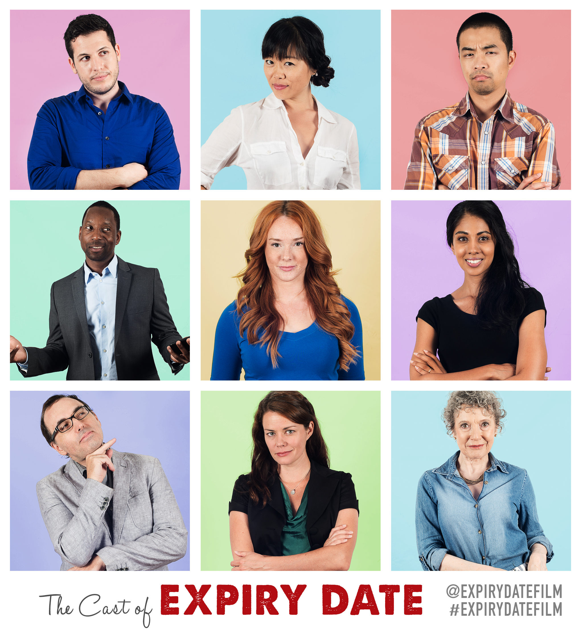 Expiry Date Film Character Poster