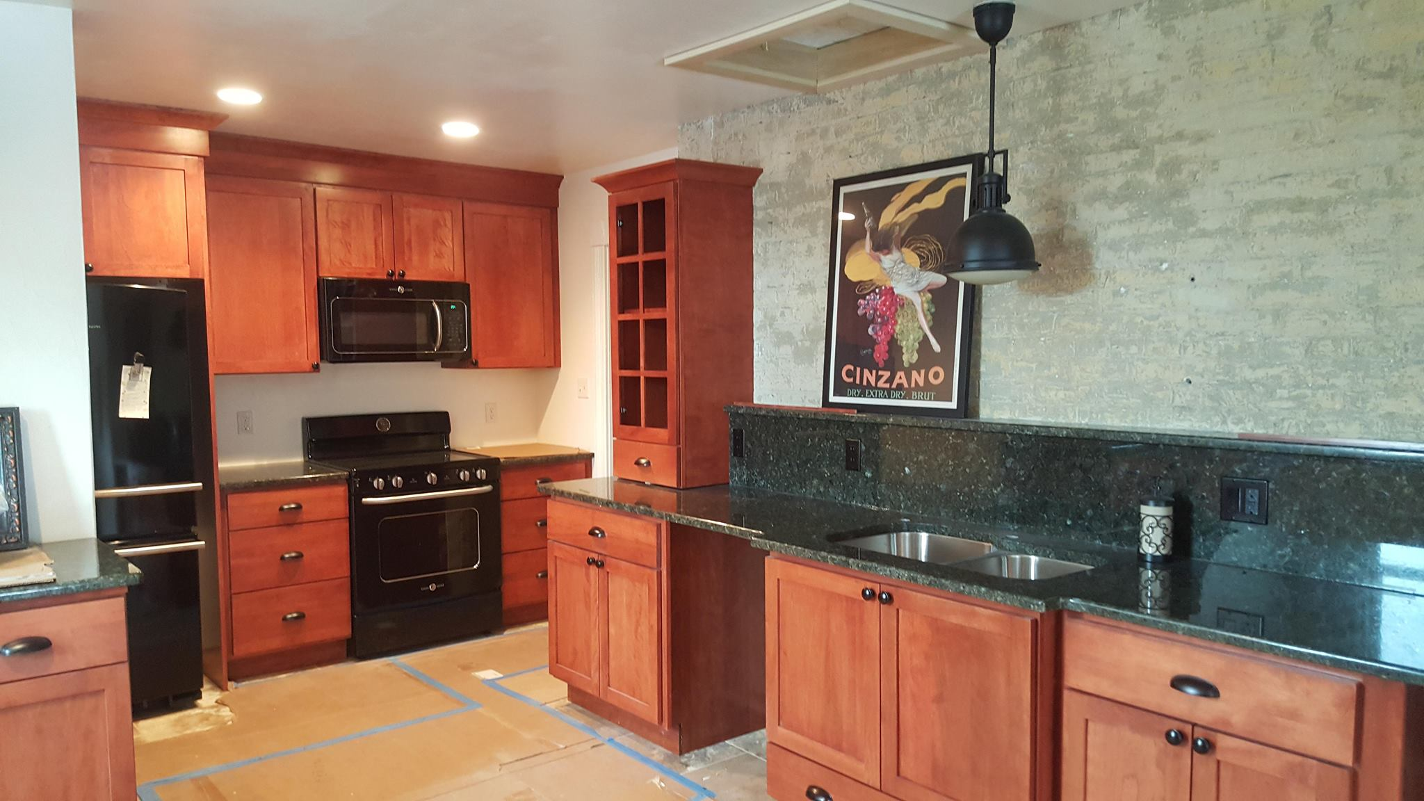 Historic home - This kitchen and combined laundry are in a historic mansion in downtown Kenosha