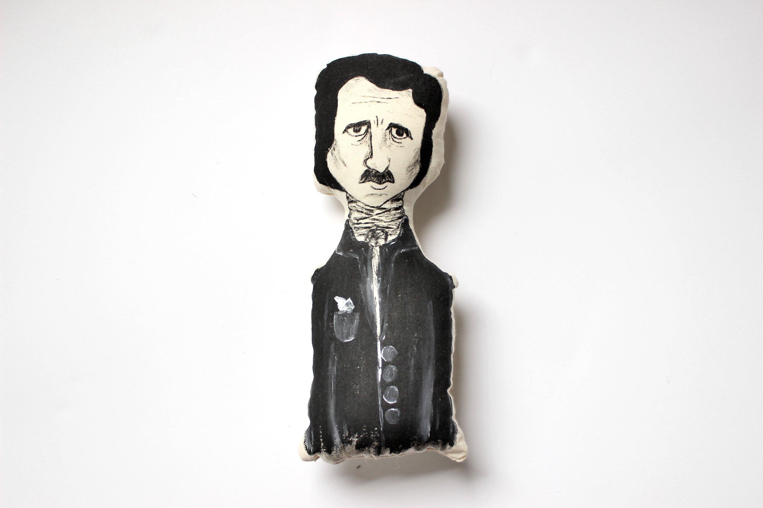 Edgar Allan Poe Doll, $25