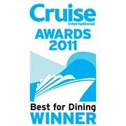 Cruist International Awards   Best for Dining