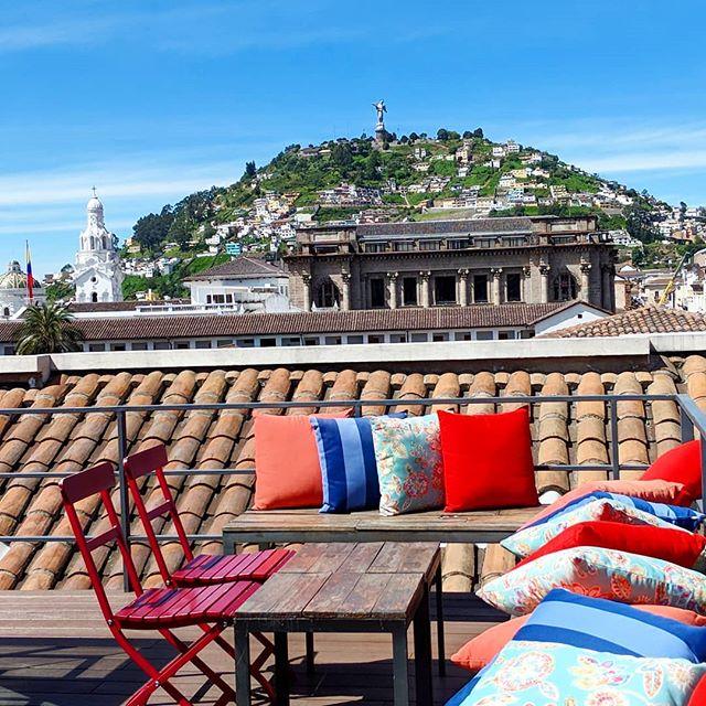 Good morning Quito! #view #sunshine #zenluxurytravel #travel #ecuador #brunch #luxury @design_hotels