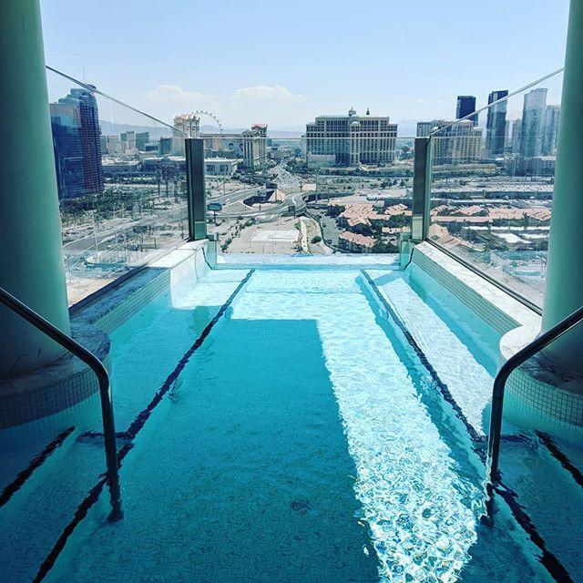 Checking out the new #villa @palms #zenluxurytravel #vegas #travel #luxury #virtuosoweek