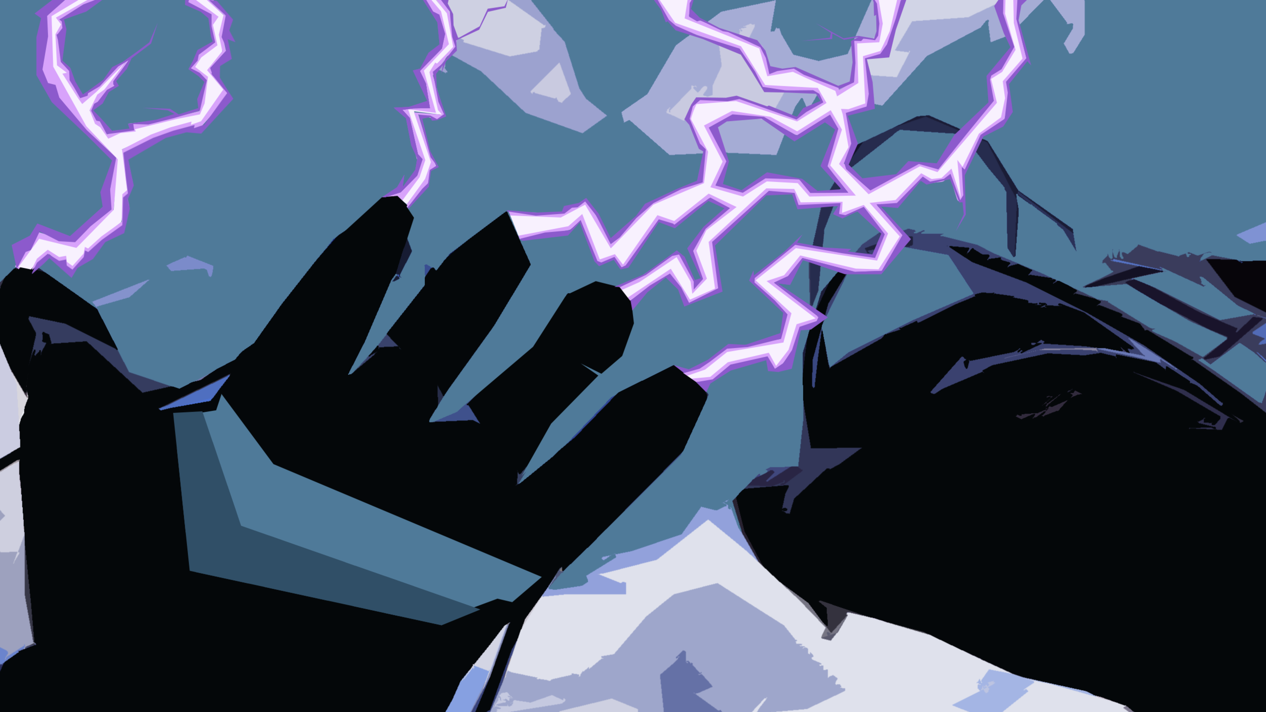 He puts on his two augmented gloves which gives him the power to use energy in the from of electrical matter. Daytron feels the power bestowed upon him and is ready...