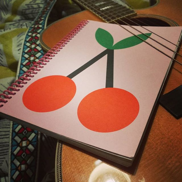 Nothing like a bit of time off and a new cherry notebook to get the musical mojo back. I've been off the bandwagon for a while but here's to 2019 being a year of happenings...