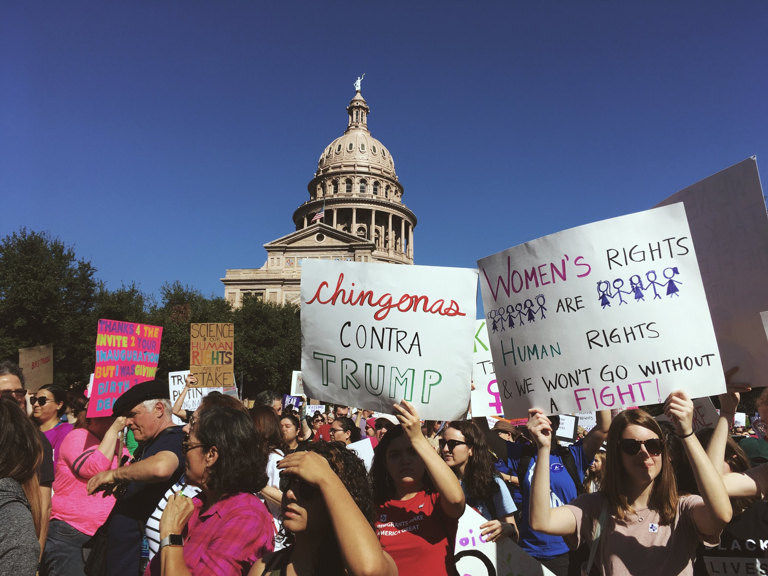 The Women's March in Austin, Texas. Jan. 21, 2017.