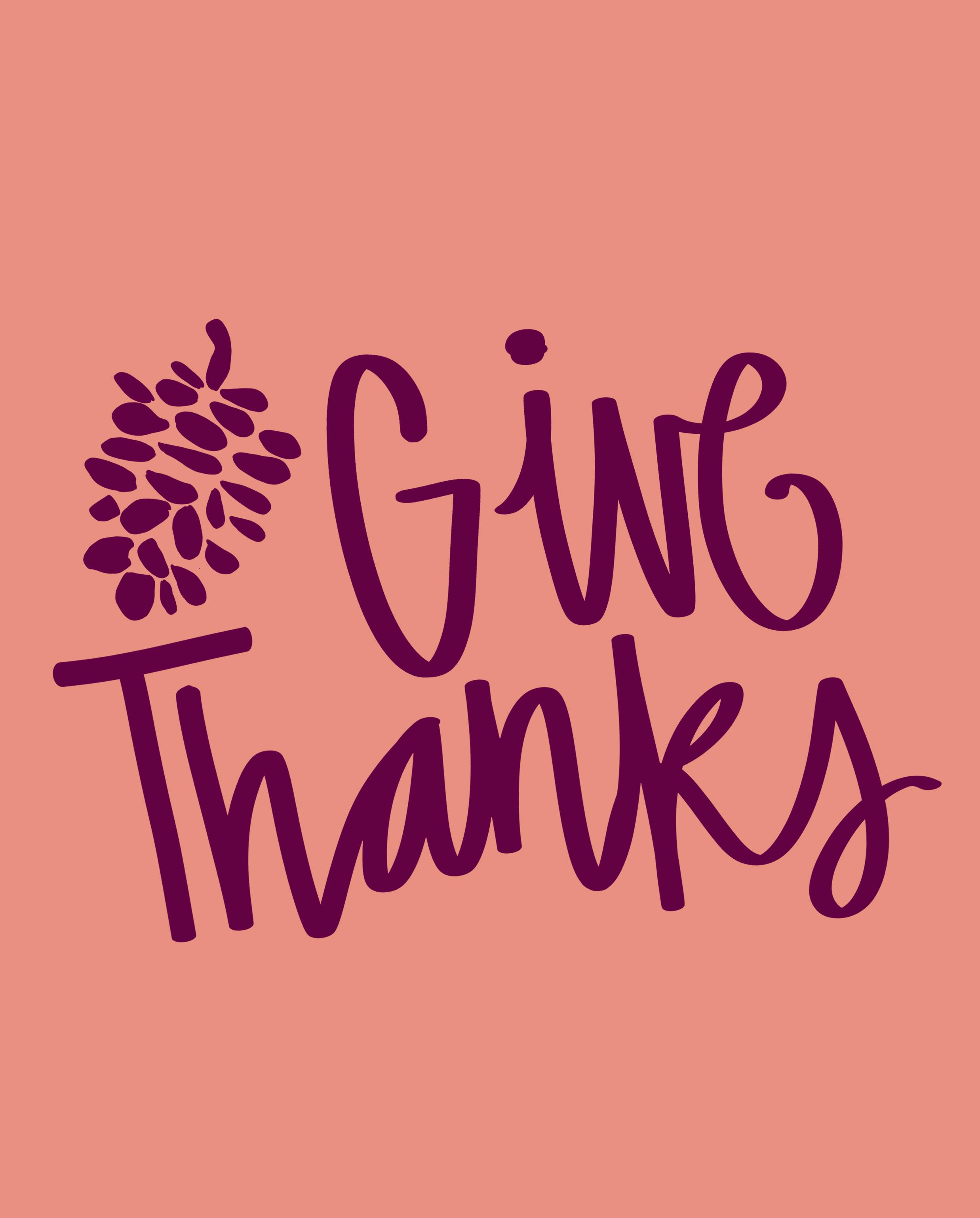 printable give thanks