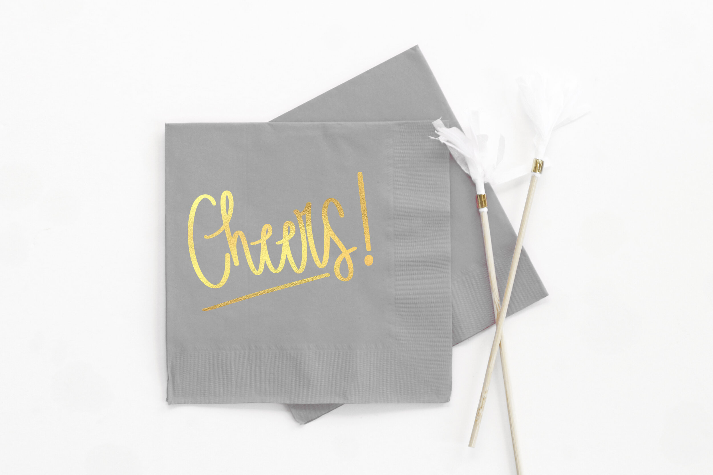 Monogram Wedding Napkins When It Rains Paper Co Colorful And Fun Paper Goods Office Supplies And Personalized Gifts
