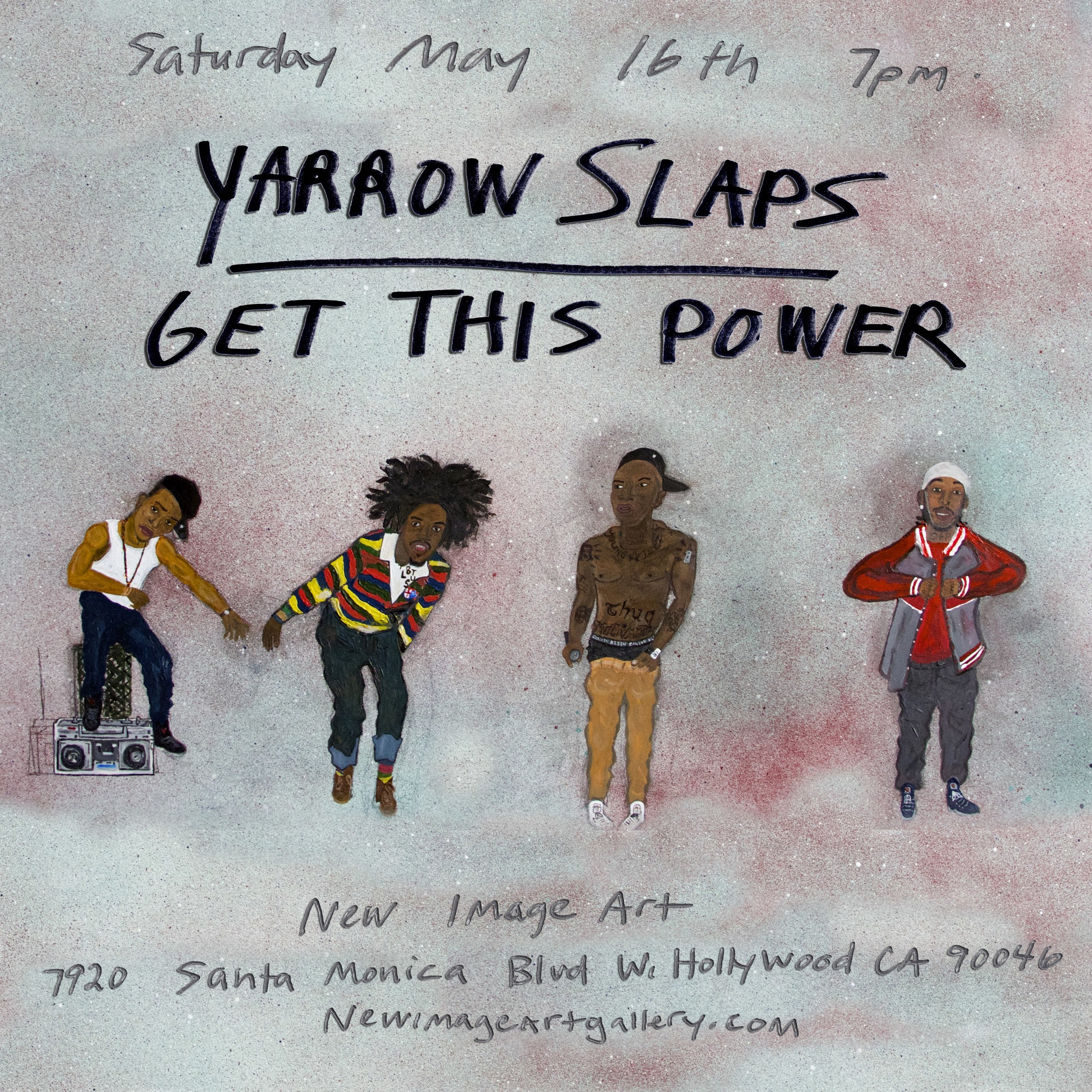 YARROW SLAPS - GET THIS POWER
