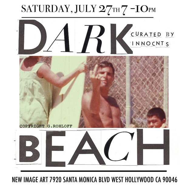 GROUP SHOW - DARK BEACH