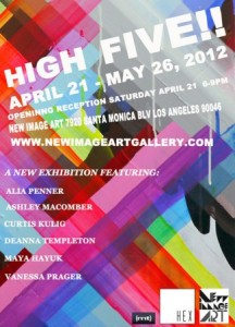 GROUP SHOW - HIGH FIVE