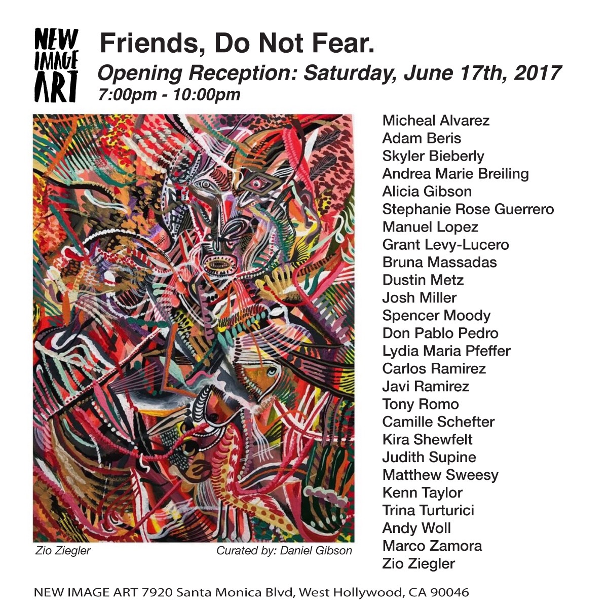 GROUP EXHIBITION - FRIENDS DO NOT FEAR