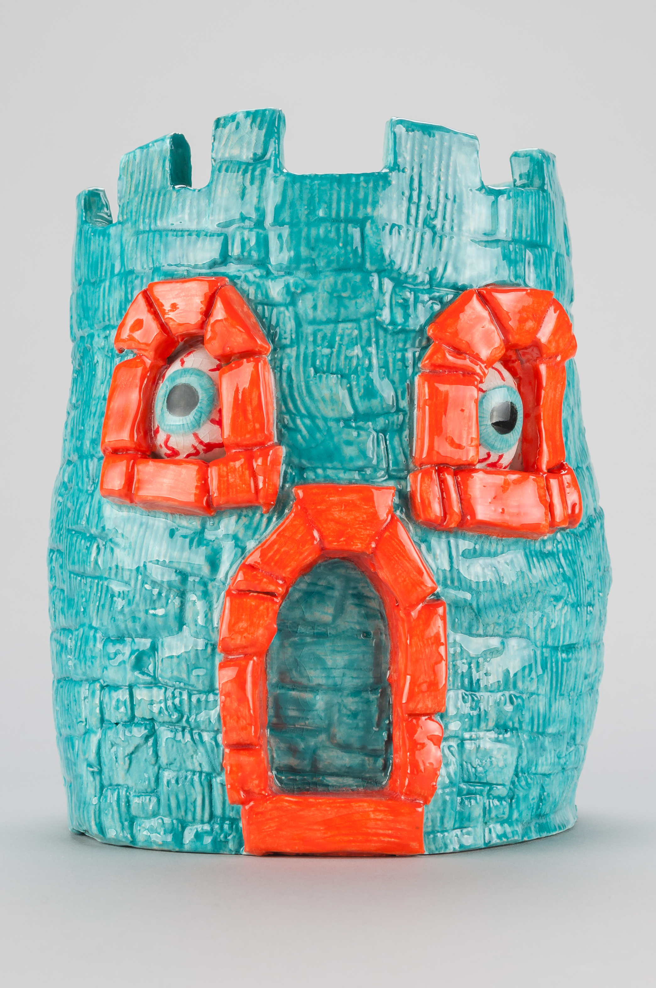 "Richard ""French"" Sayer / Warbug Castle / 2017 / Ceramics / 6.5 x 5 x 5 inches"