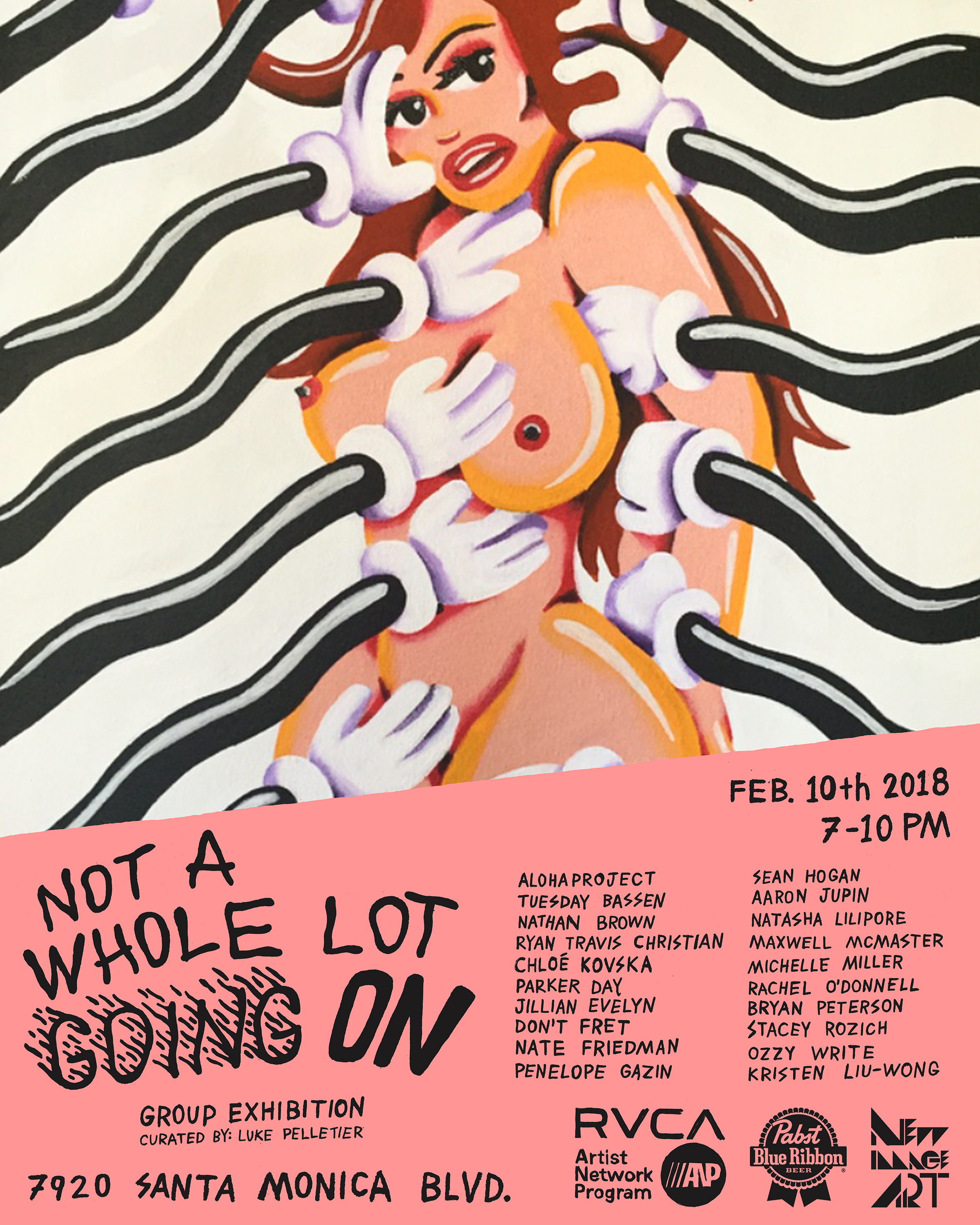 GROUP EXHIBITION - NOT A WHOLE LOT GOING ON