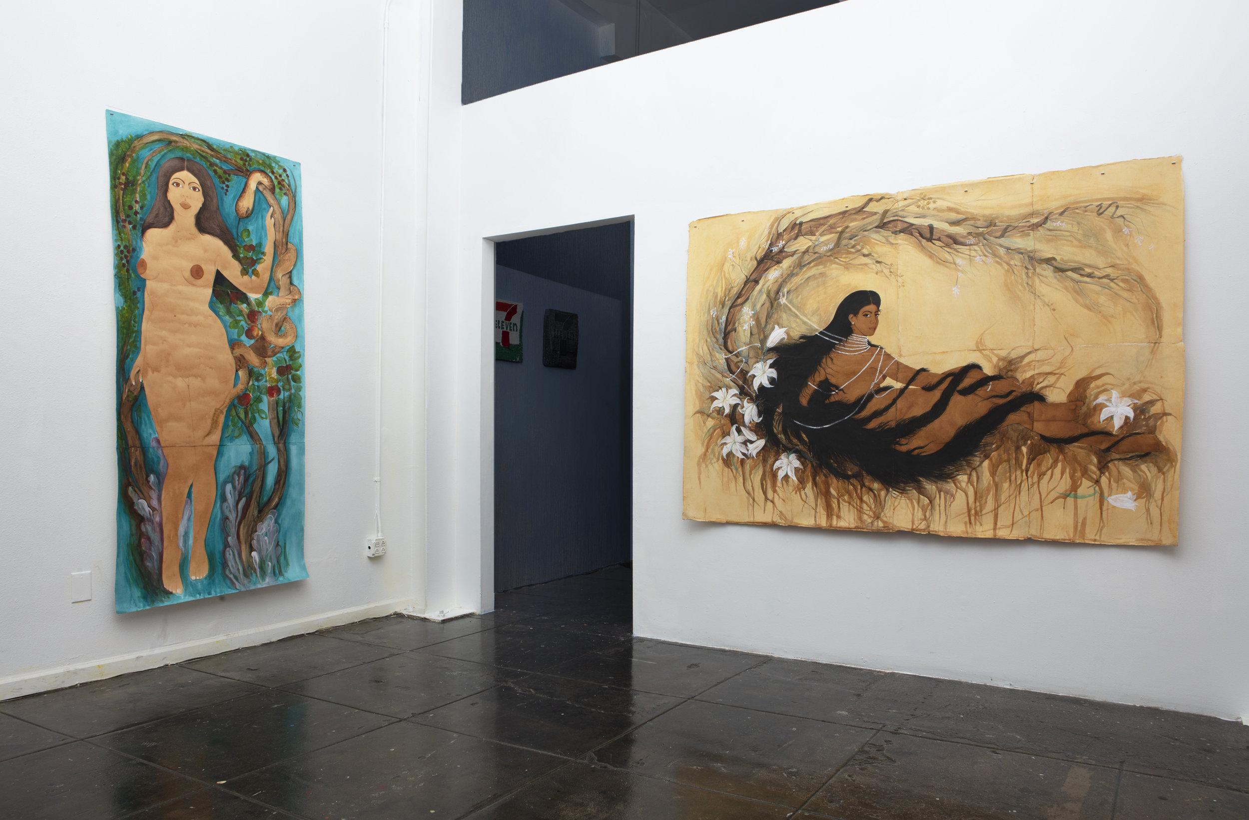 Hiba Schahbaz// The Garden Installation Images//