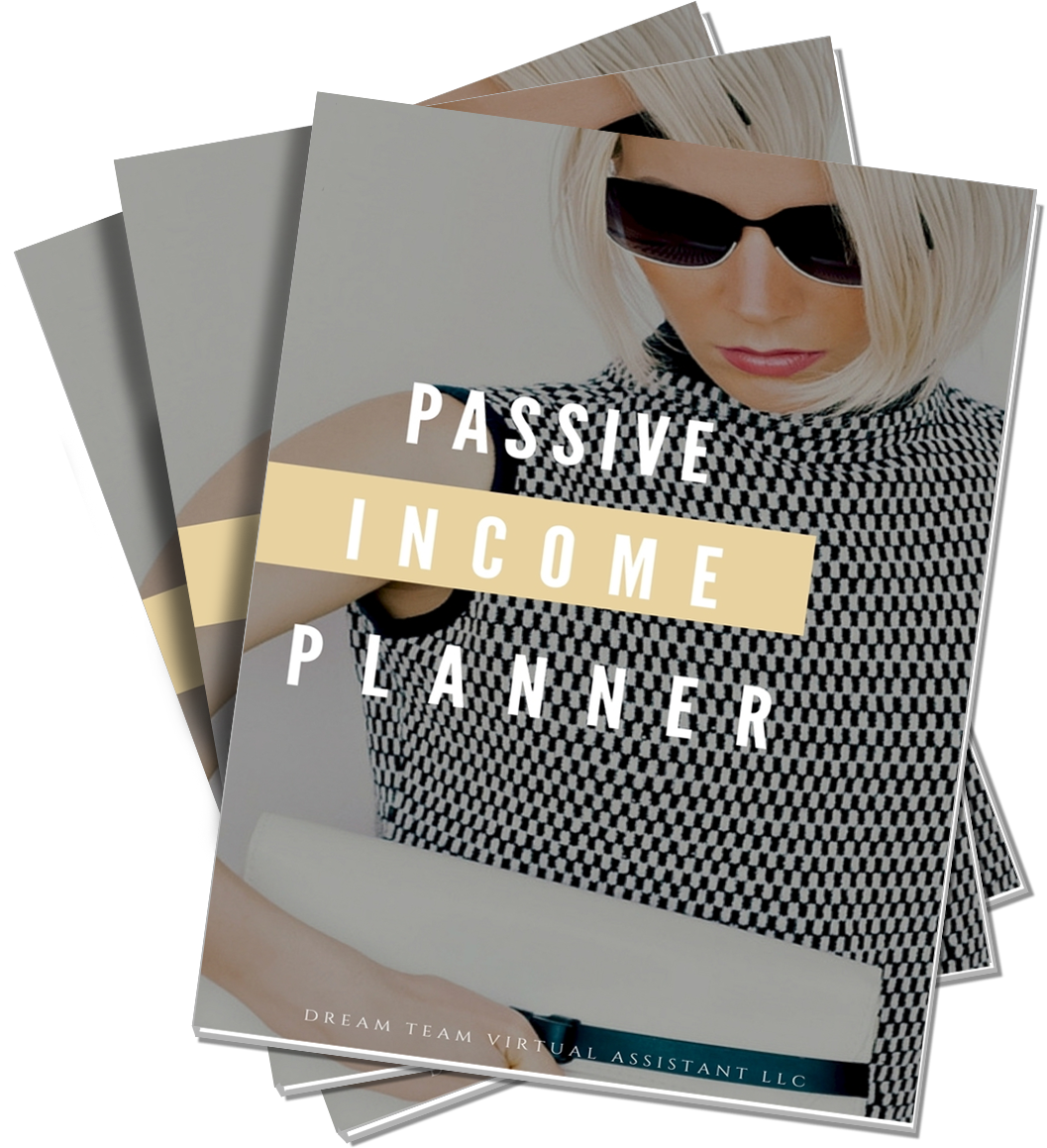 Our comprehensive Passive Income Planner will spell out exactly how to start generating passive income. -