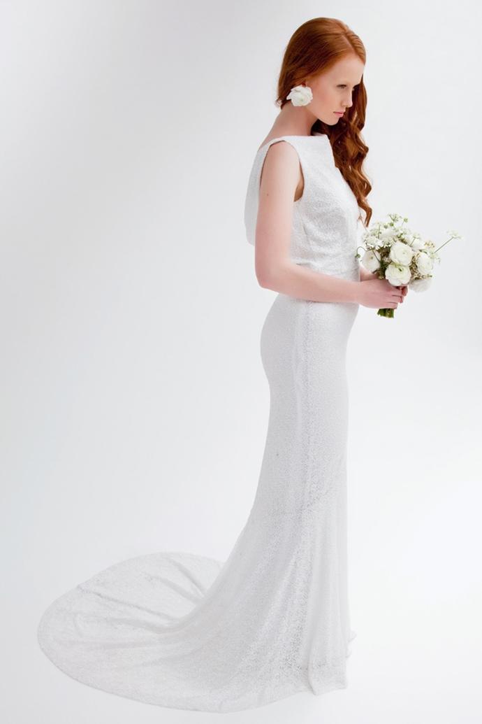 <p><strong>Flower Bride</strong>Sequin Verona $1,900</p>
