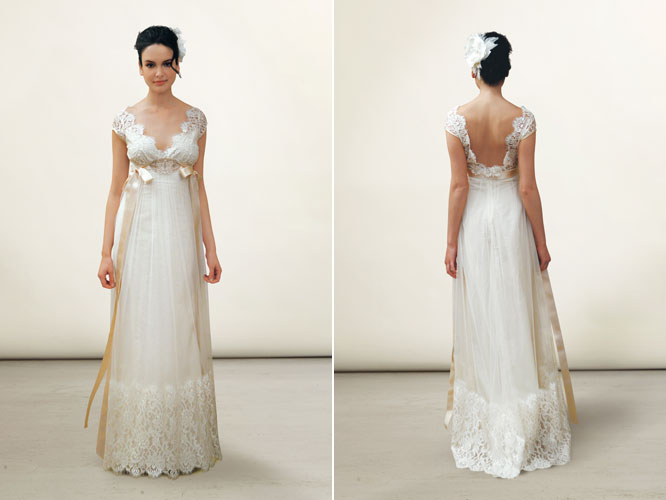 <p><strong>Claire Pettibone</strong>Queen Anne's Lace (silk lined) $2,800</p>