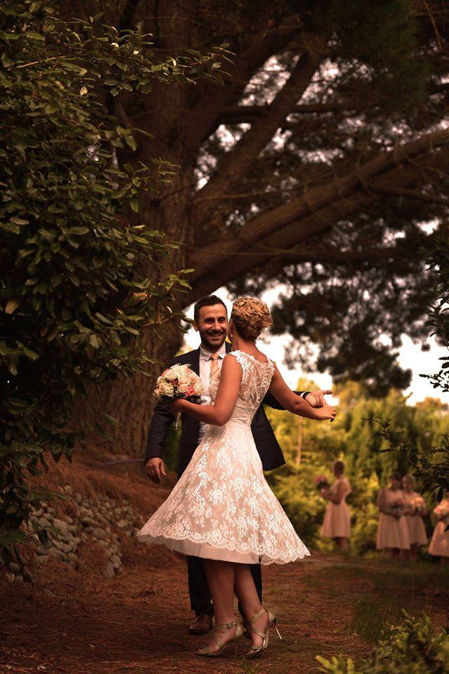 v - Mum's reworked gown - Hanmer Springs Bride