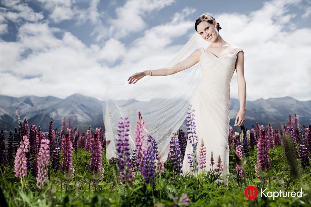 Danni - silk satin crepe, silk tulle - Castle Rock Bride - Kaptured Photography