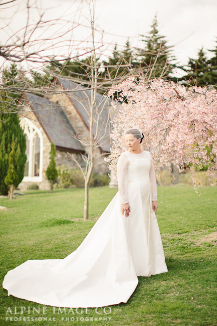 v - silk mikado - Queenstown bride - Alpine Image Company Photography