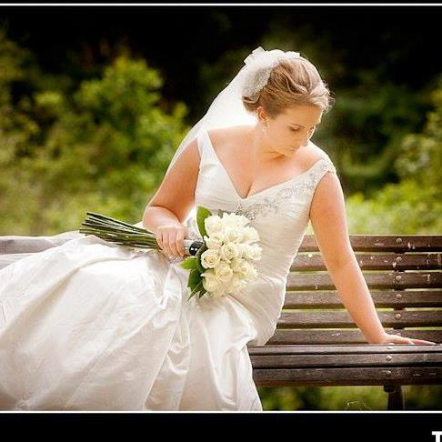 Brenda - pure silk duchess satin - Christchurch Bride - Tandem Photography