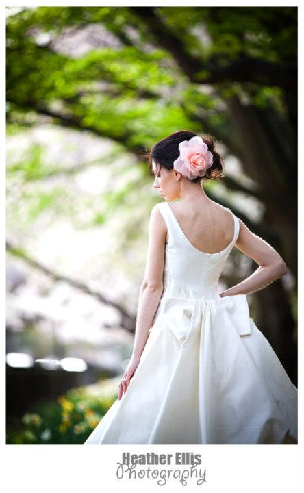 Sara - pure silk mikado - Christchurch wedding - Heather Ellis Photography