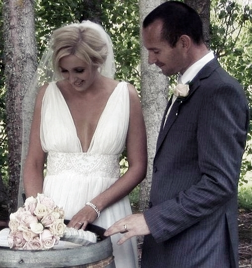 Chantell - silk charmeuse, silk chiffon - Christchurch bride - Tandem Photography