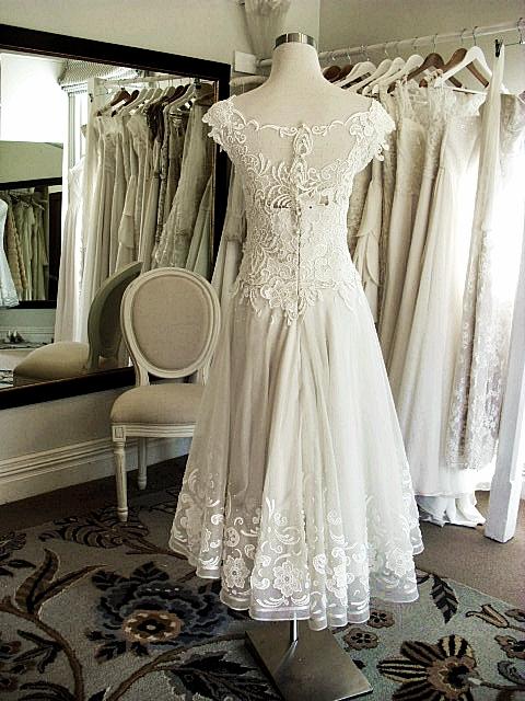 Catherine - silk satin crepe, silk organza, guipure lace - Christchurch bride - studio shop
