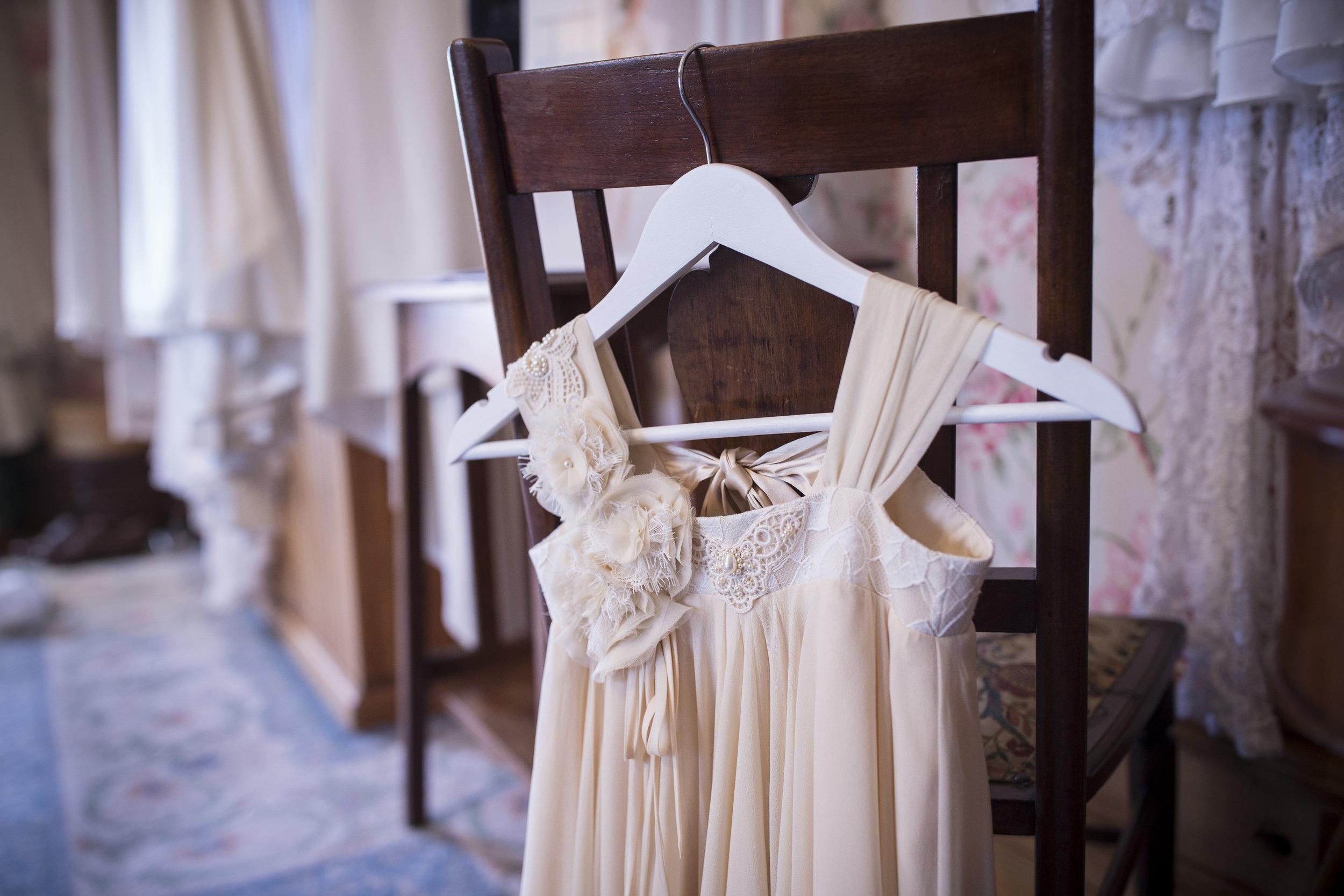 Flowergirl dress - Riccarton House styled shoot - Johannes van Kaan Photography
