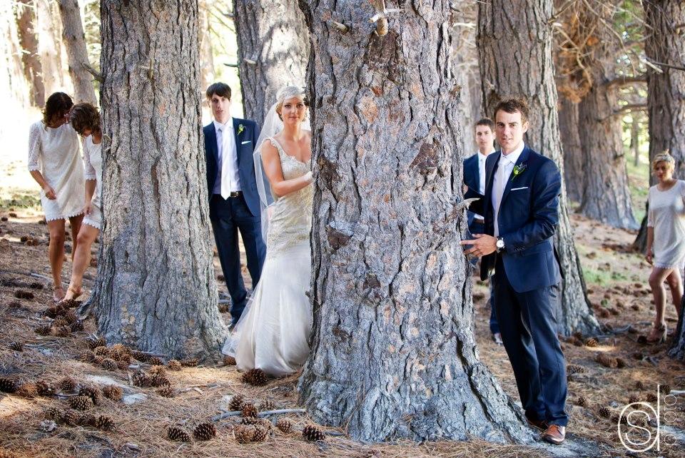 Eve - silk peau de soie, french lace - Mr Cook bride - Sarah Drummond Photography