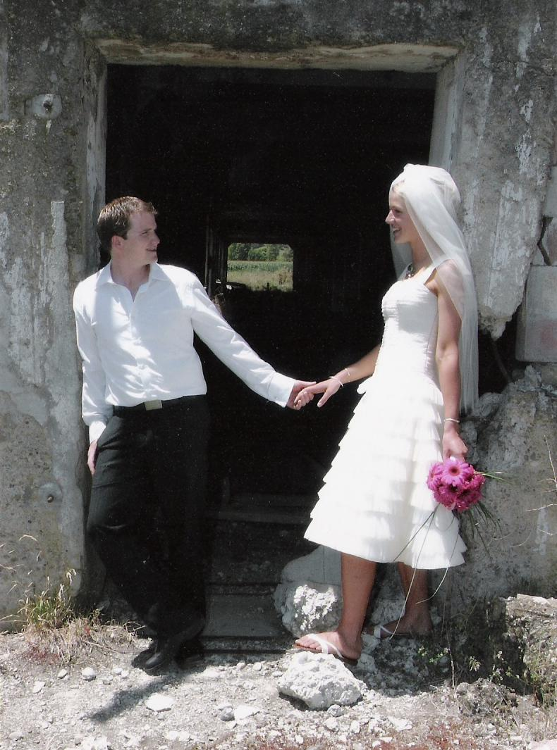 Corryanne - silk dupion, tulle - Coromandel bridal