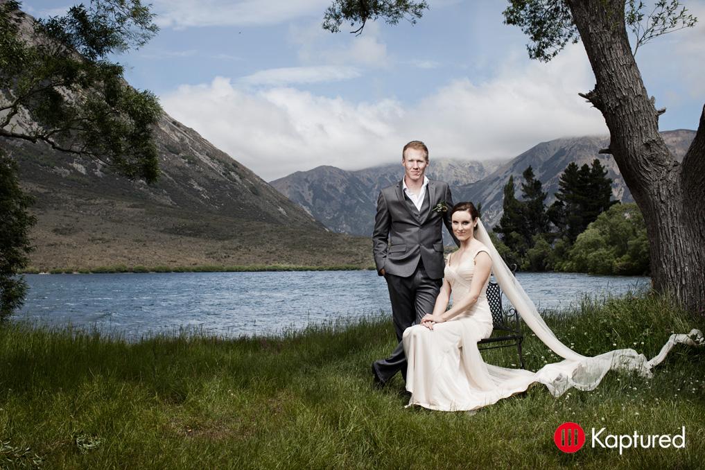 Danny - silk satin crepe, silk tulle - Castle Rock bride - Kaptured Photography
