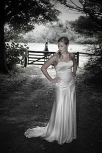 Jayne - silk satin crepe - Christchurch bridal