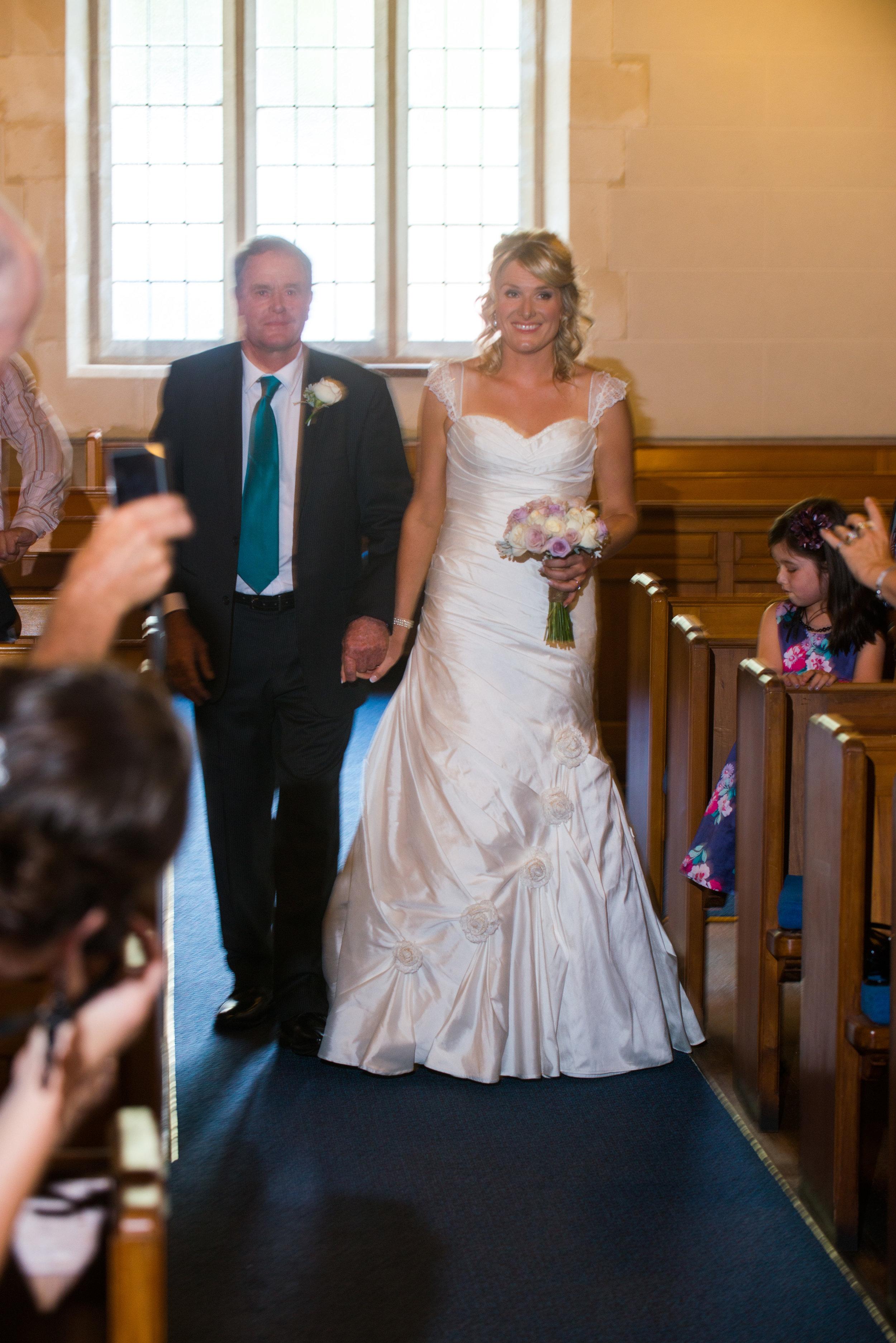 Katrina - silk dupion, silk chiffon - South Canterbury Bridal - Frank Visser Photography