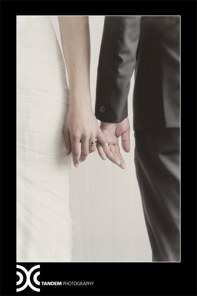 v- silk satin crepe, silk tulle - Christchurch Bridal - Tandem Photography