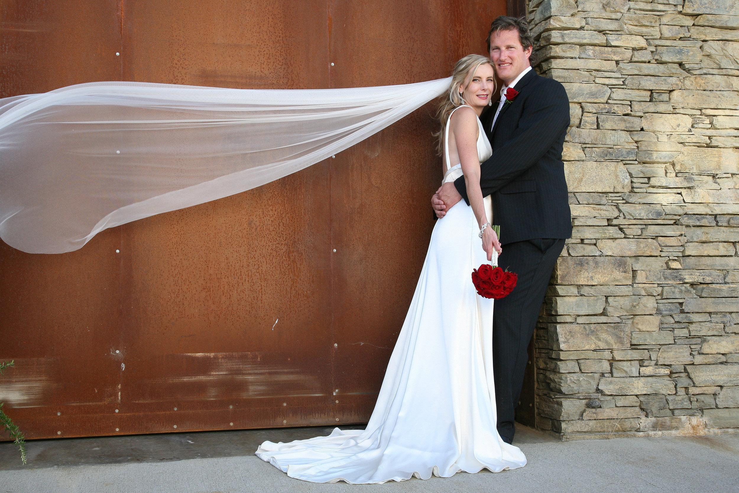 Leana - silk satin crepe - Queenstown Bridal