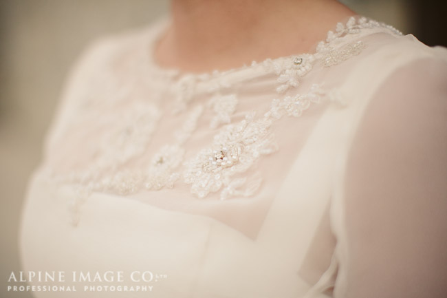 v - silk mikado, silk georgette beaded - Queenstown Bridal - Alpine Image Company Photography