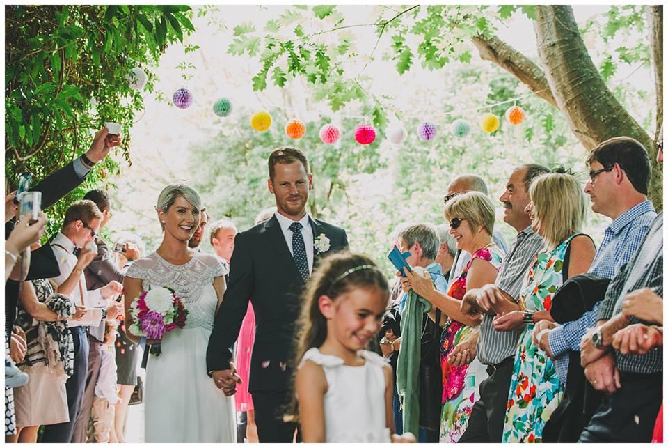 Lola - silk gwendolynne deco gown - ivory - christchurch bride - Paul Tatterson Photography