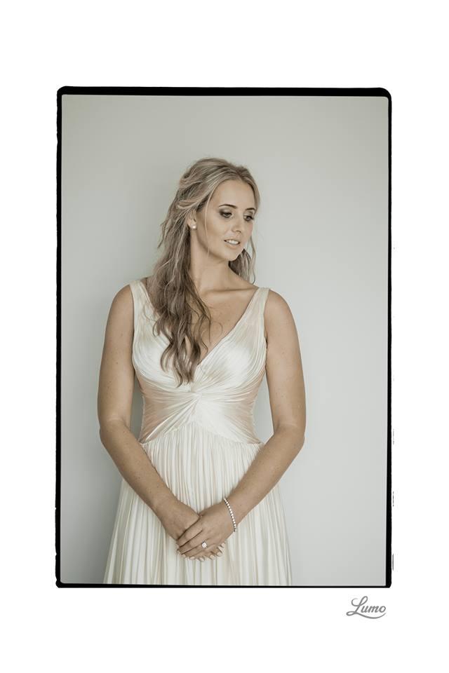 Charlotte - silk satin crepe, satin chiffon - Wanaka wedding - Lumo Photography