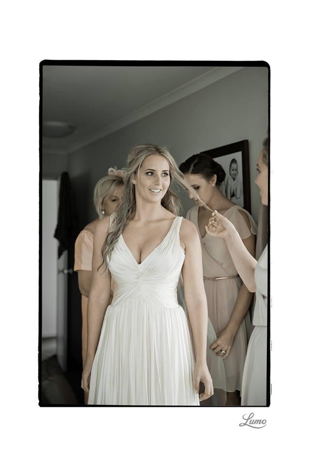 Charlotte - SIlk Satin crepe, silk satin chiffon - Wanaka wedding - Lumo Photography