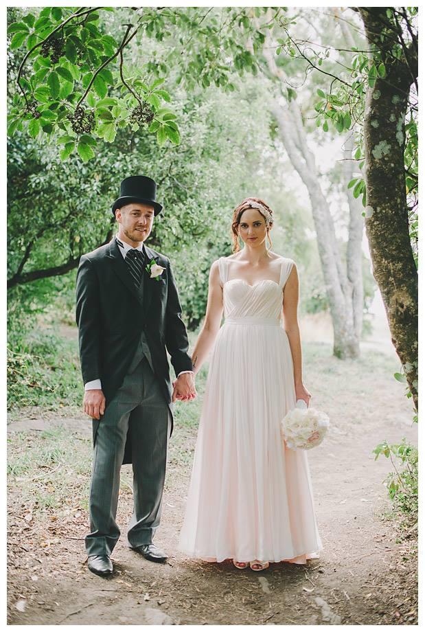 Maxine - Silk charmeuse, silk chiffon - Christchurch Bride