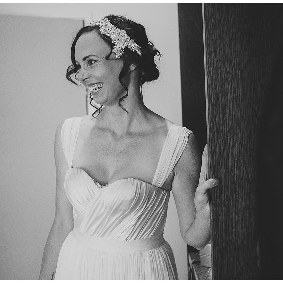 Maxine - Silk satin charmeuse, silk chiffon - Christchurch Bride - Paul Tatterson Photography