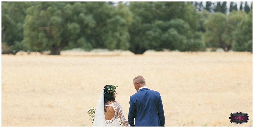 Bex - silk satin crepe, applique silk tulle - North Canterbury Bride - Lovelight Photography