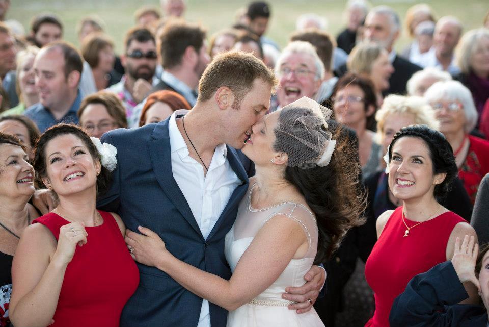 Rachel - silk chiffon, silk charmeuse, beaded trim - Christchurch Bride - Lumo Photography