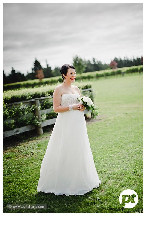 Rachel - silk charmeuse, silk georgette - Canterbury Bride - Paul Tatterson Photography